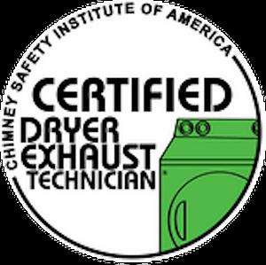 certified dryer exhaust technician